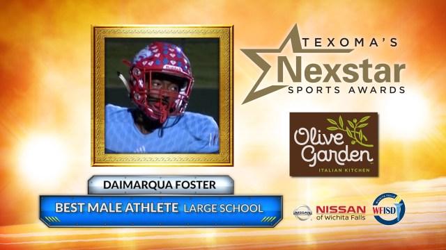 2019 Texoma's Nexstar Sports Awards Large School Best Male Athlete