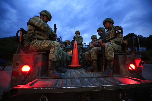 National Guard troops