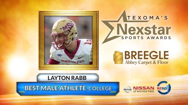 2019 Texoma's Nexstar Sports Awards Best Male College Athlete