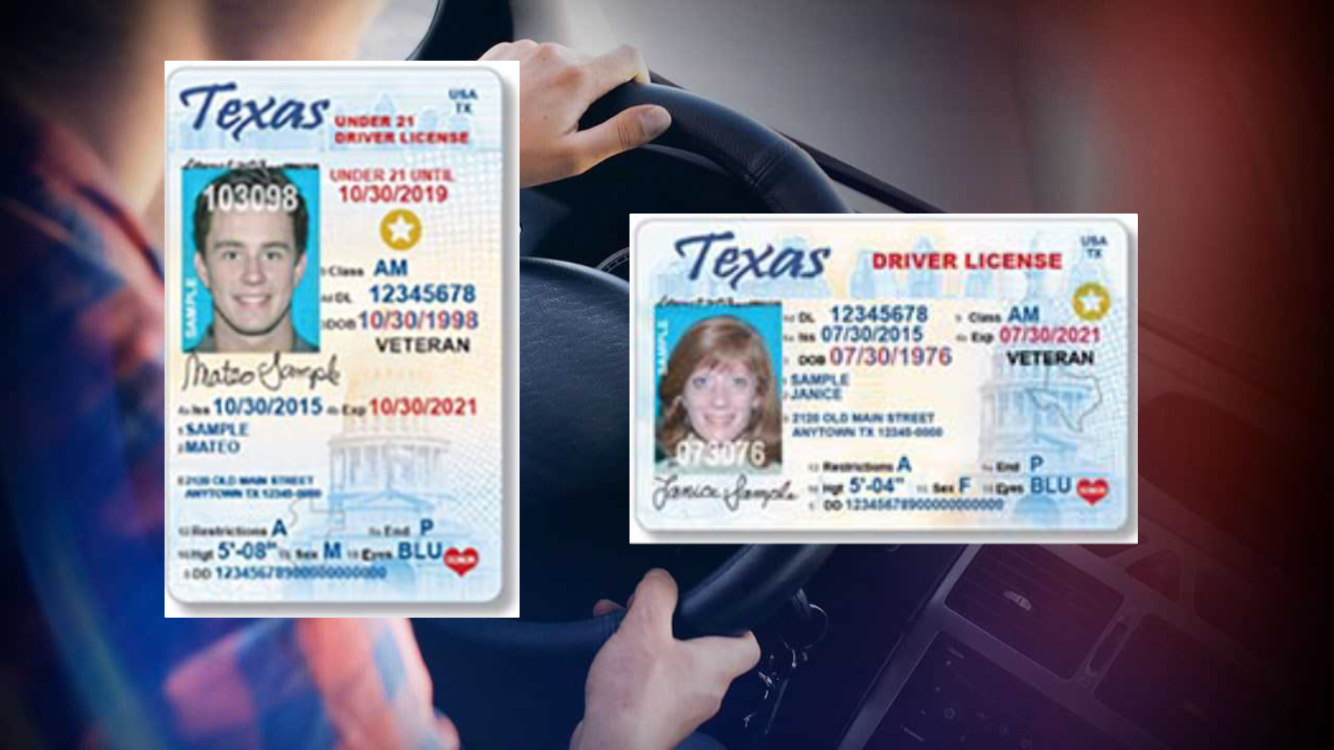 REAL ID act affecting Texas residents, new requirements for renewing a Texas  ID