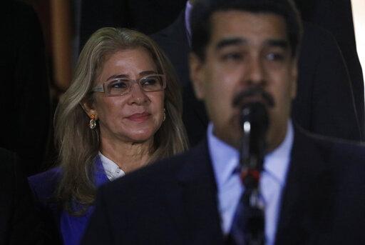 Nicolas Maduro, Cilia Flores