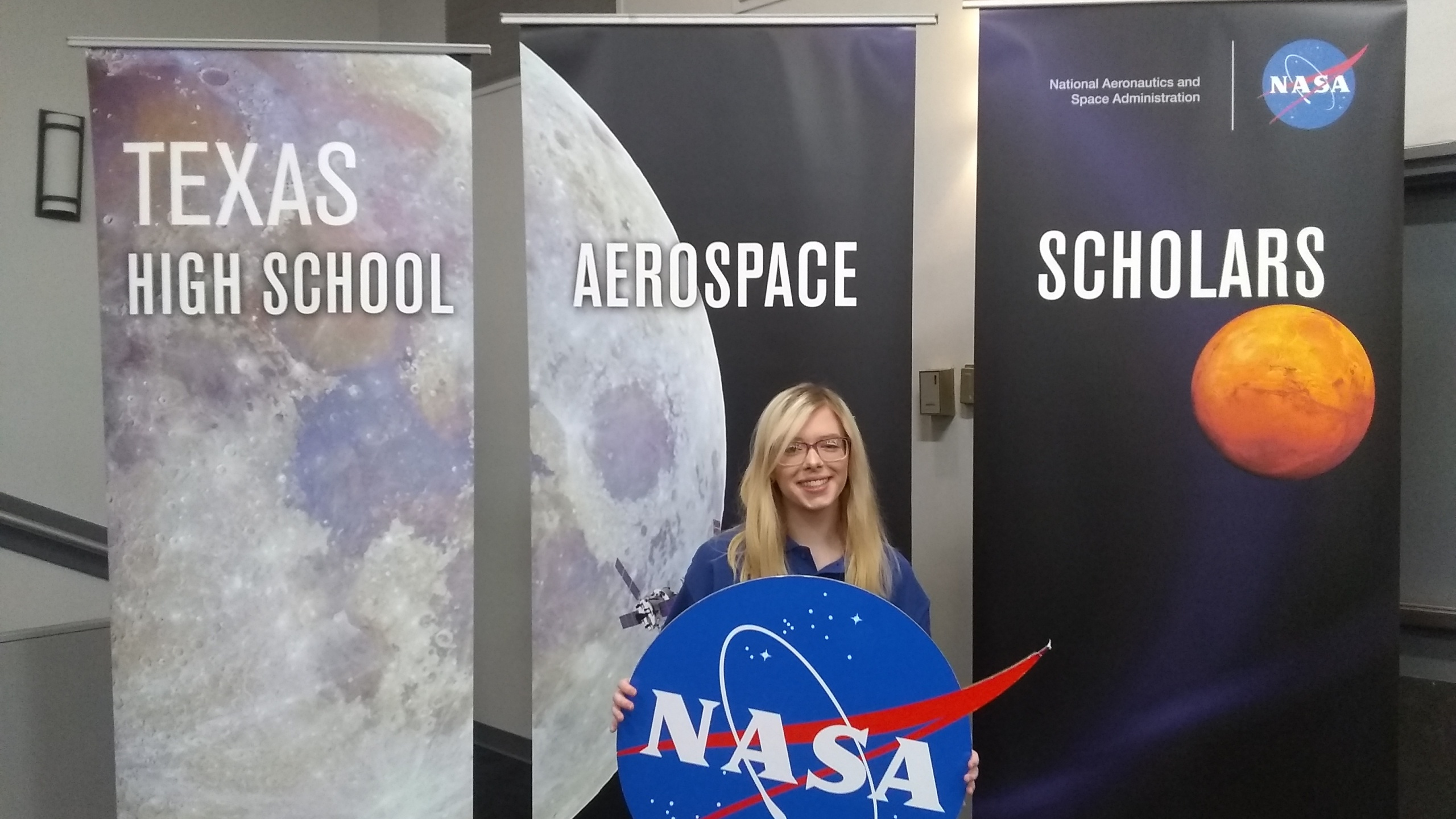 A Rider High School senior is still on cloud nine after an out of this world experience at NASA's Johnson Space Center in Houston last month.
