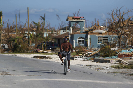 Top Bahamas official says some communities still cut off