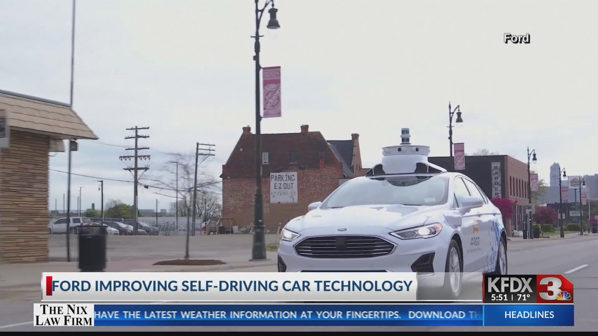 Ford improving self-driving car technology