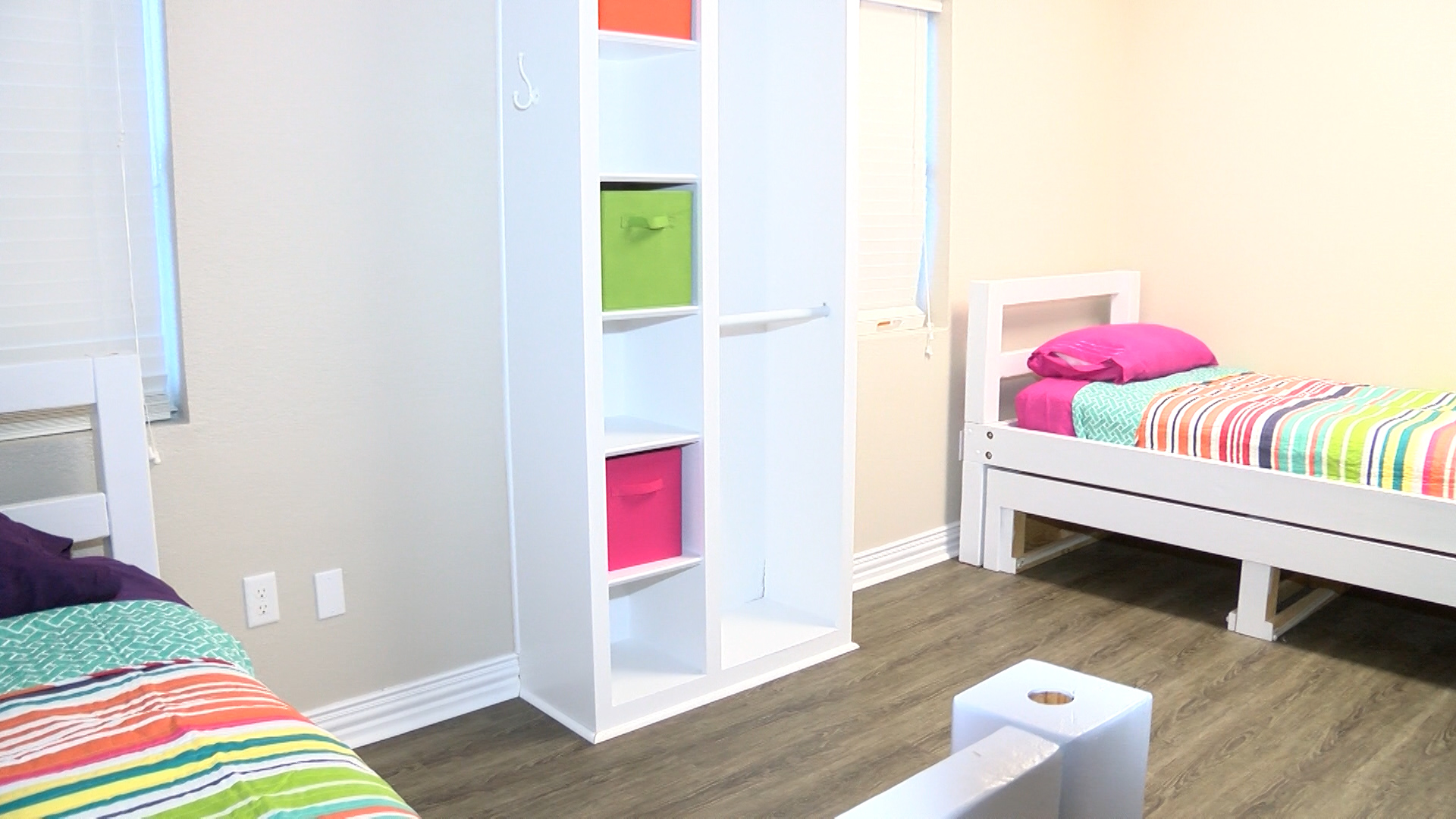 Phased In gave a special tour of its new female dorm Wednesday.
