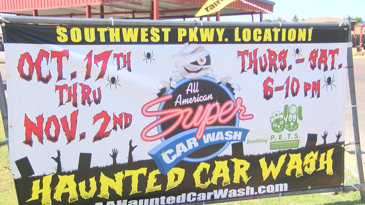Texomans Get Spooky Treat With Haunted Car Wash