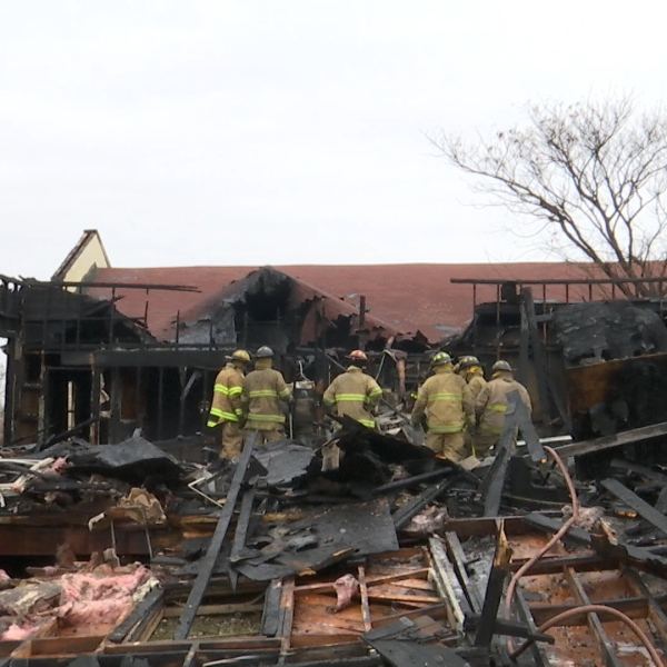 It took about 40 fire personnel to tame the blaze at the New Jerusalem Baptist Church annex Thursday morning.