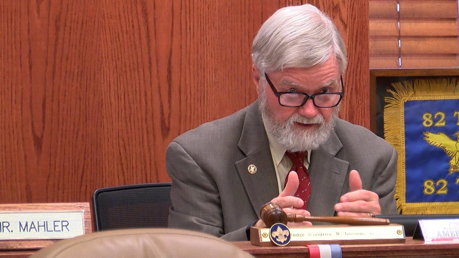 About a week after receiving a letter from two county court at law judges requesting workload assistance, Wichita County Judge Woody Gossom is now commenting.