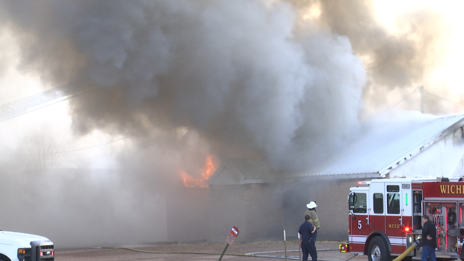 Wichita Falls Fire officials said a fire at Berend Turf and Tractor Friday morning has caused more than $130,000 in damage.