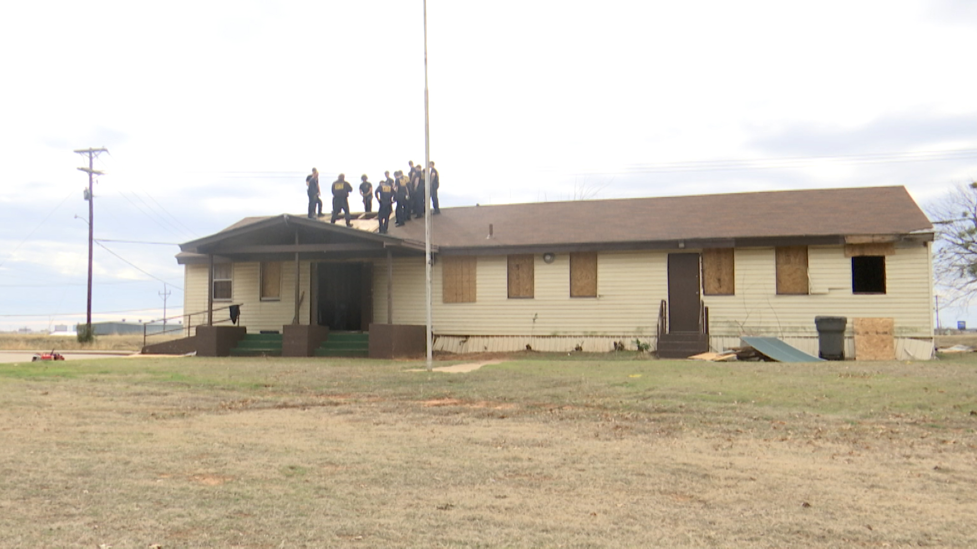 Wichita Falls city officials are killing two birds with one stone this week with a live burning training on the Lynwood Community Center.