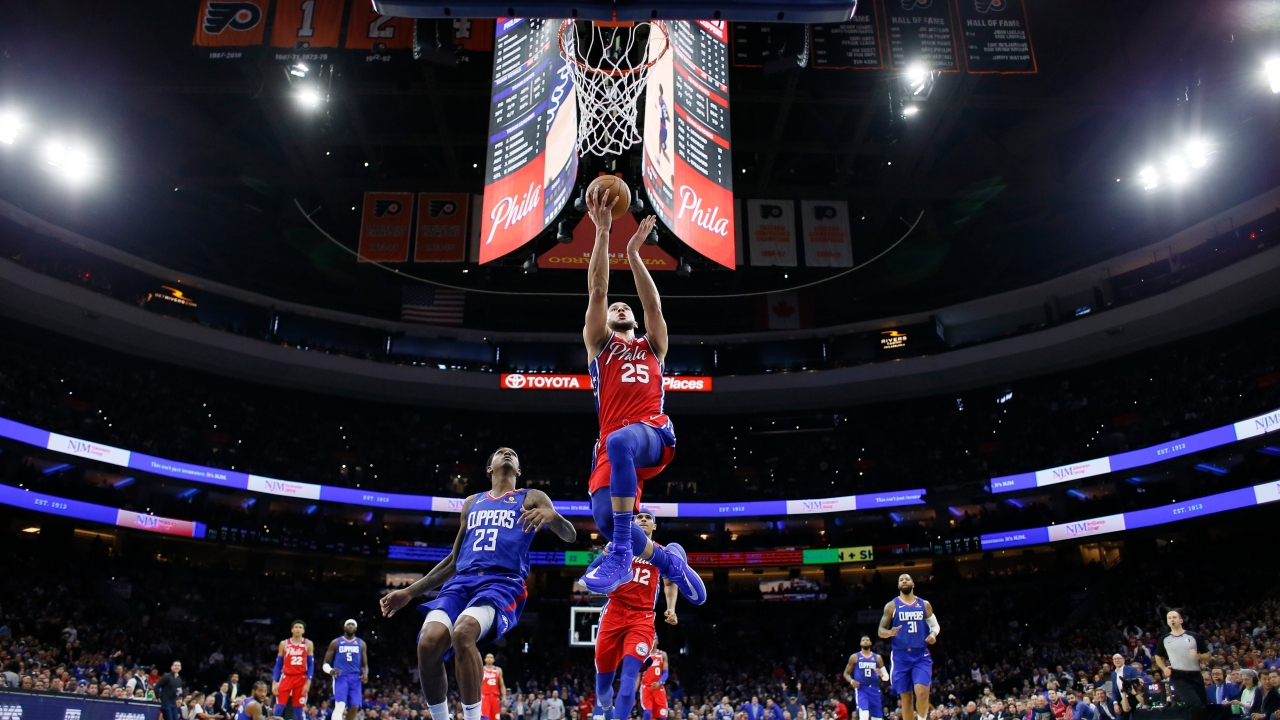 Richardson Simmons Lead 76ers Past Clippers 110 103