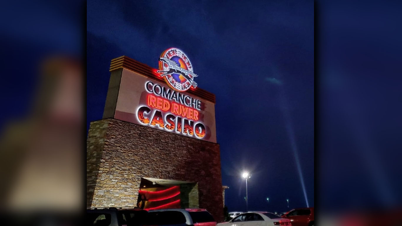 Comanche red river casino winners hollywood casino online games