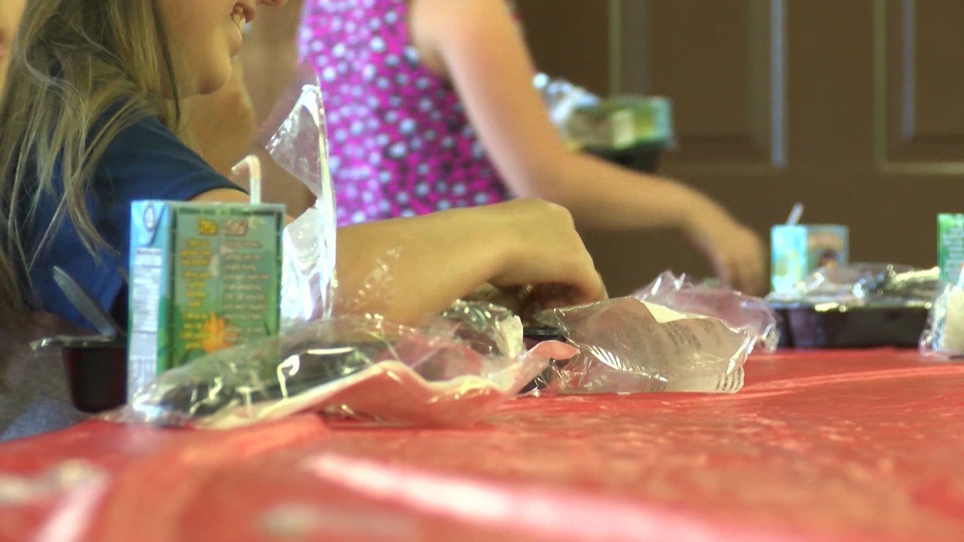 The Wichita Falls Area Food Bank is back at it again making sure our area kids aren't left hungry.