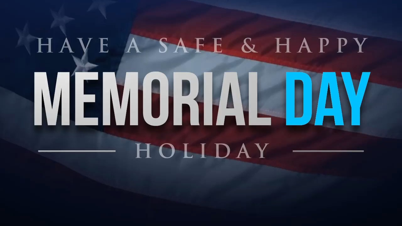 As many folks gas up their vehicles and fill coolers of ice to have eventful Memorial Weekend officials said they need to keep safety in mind.