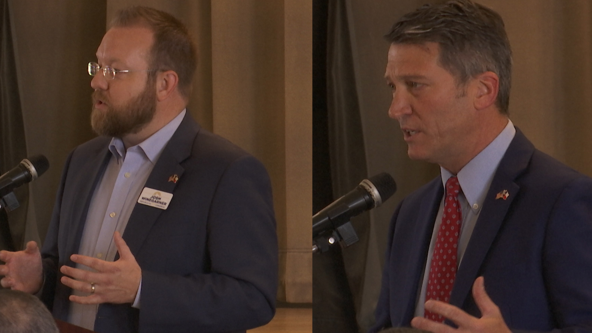 The Republican 13th District Congressional candidates faced off in a debate Monday as we get closer to early voting in the run-off election.
