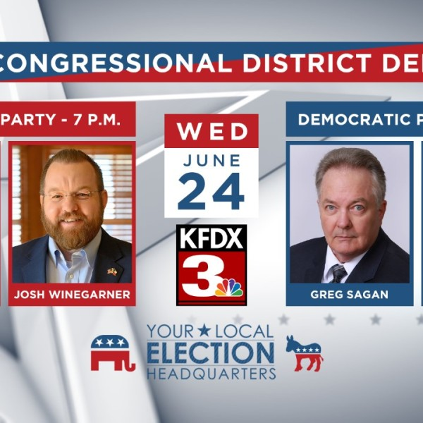 In a little more than 24 hours, 13th District Congressional candidates will be here in the falls arguing their merits and pointing out their opponents' flaws as the runoff election nears.