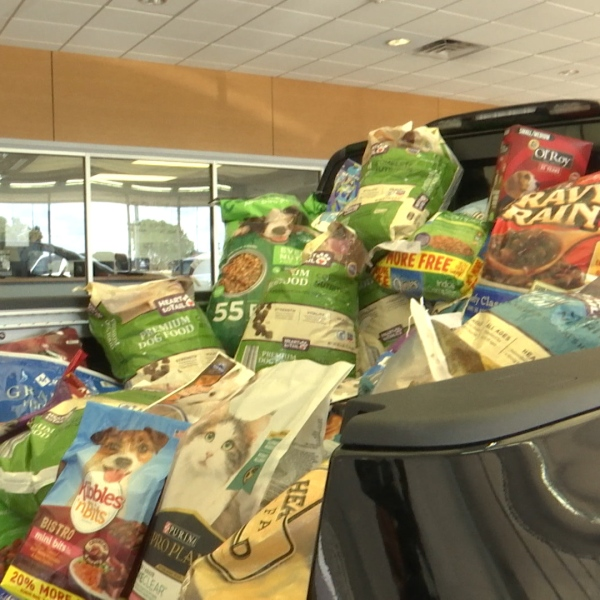 We are just three days away from the nationwide pet adoption drive, Clear the Shelters, and as always to help toward this initiative Nissan of Wichita Falls has been urging residents to Fill the Titan.