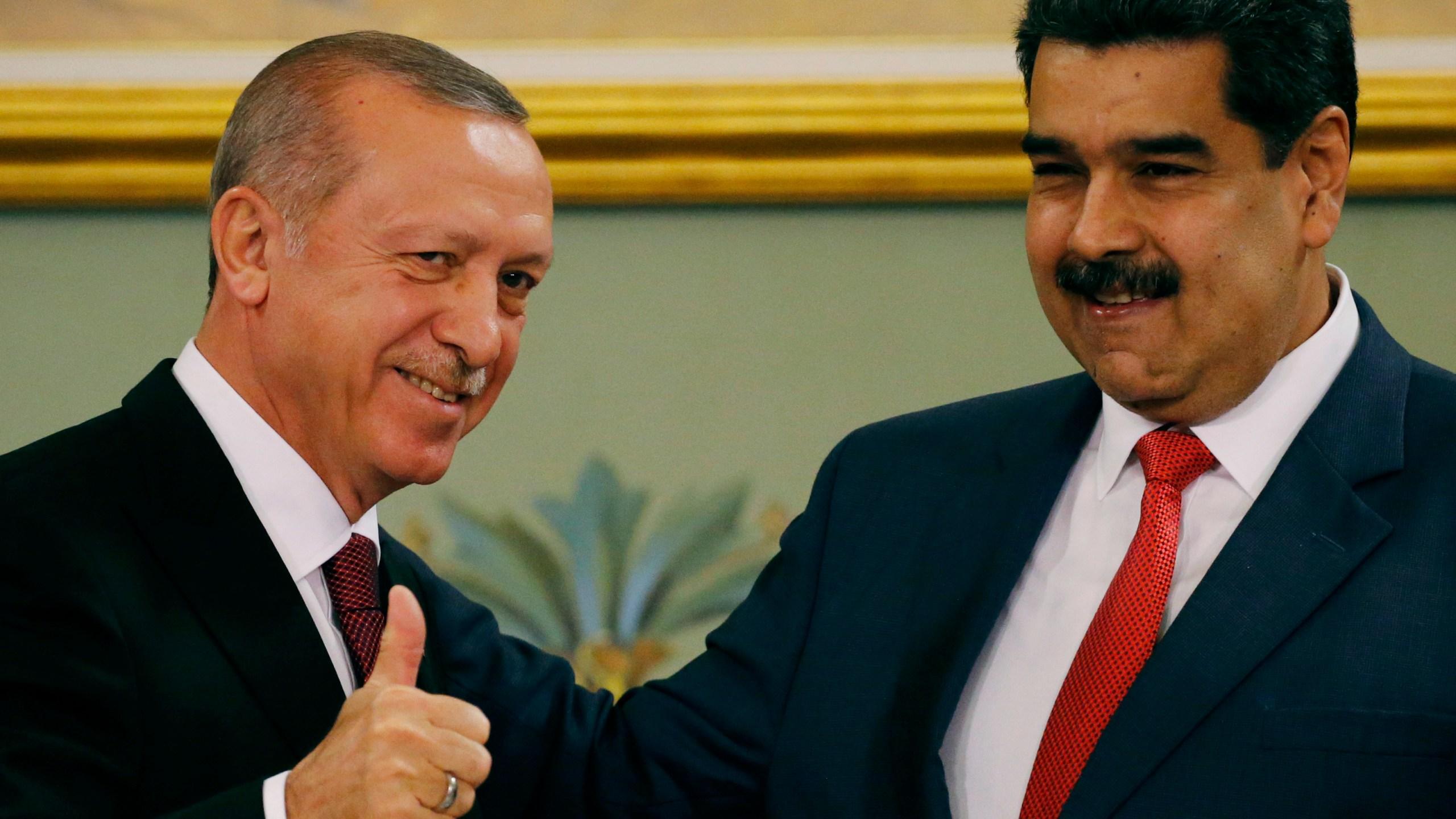 Nicolas Maduro, Recep Tayyip Erdogan, Ermine Erdogan, Cilia Flores