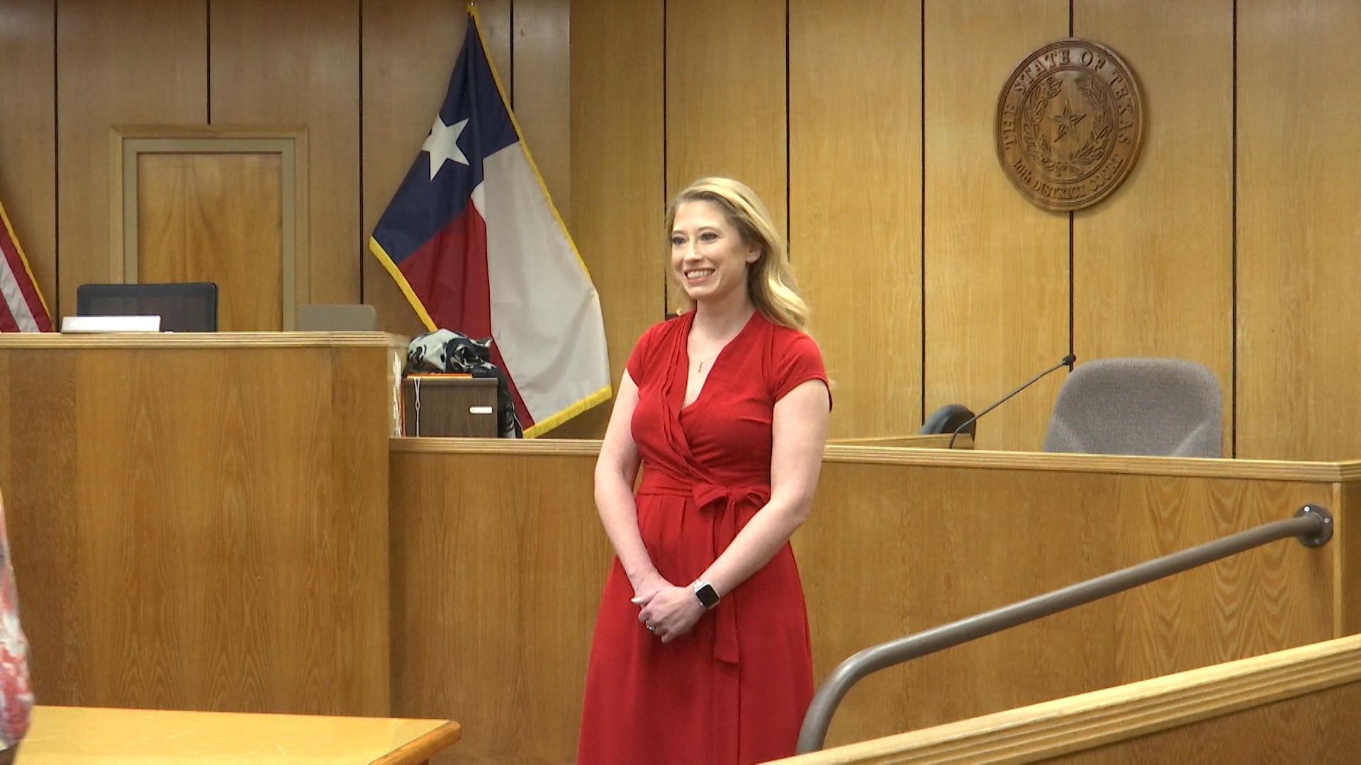 Wichita County's newly sworn-in auditor is taking on the job a bit earlier than expected.