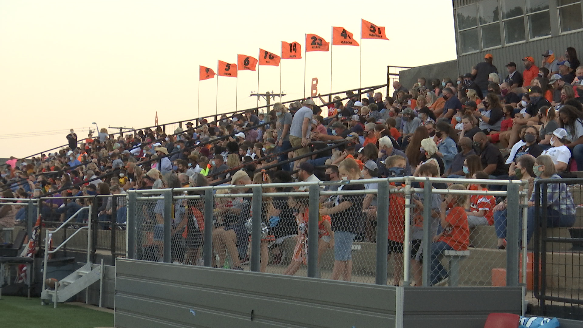 Social media lit up this weekend with some parents and spectators who were not happy with the lack of mask enforcement at Friday's Burkburnett Bulldogs Homecoming game.