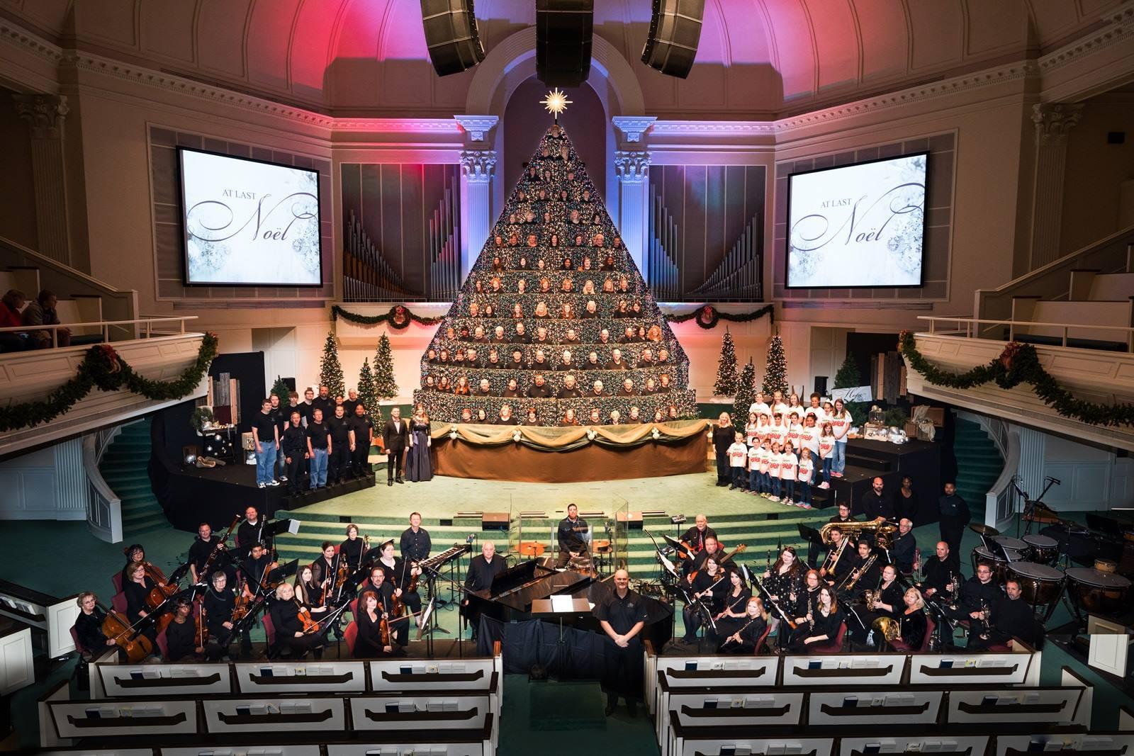 First Baptist Church Lawton Fort Sill 40th annual living Christmas