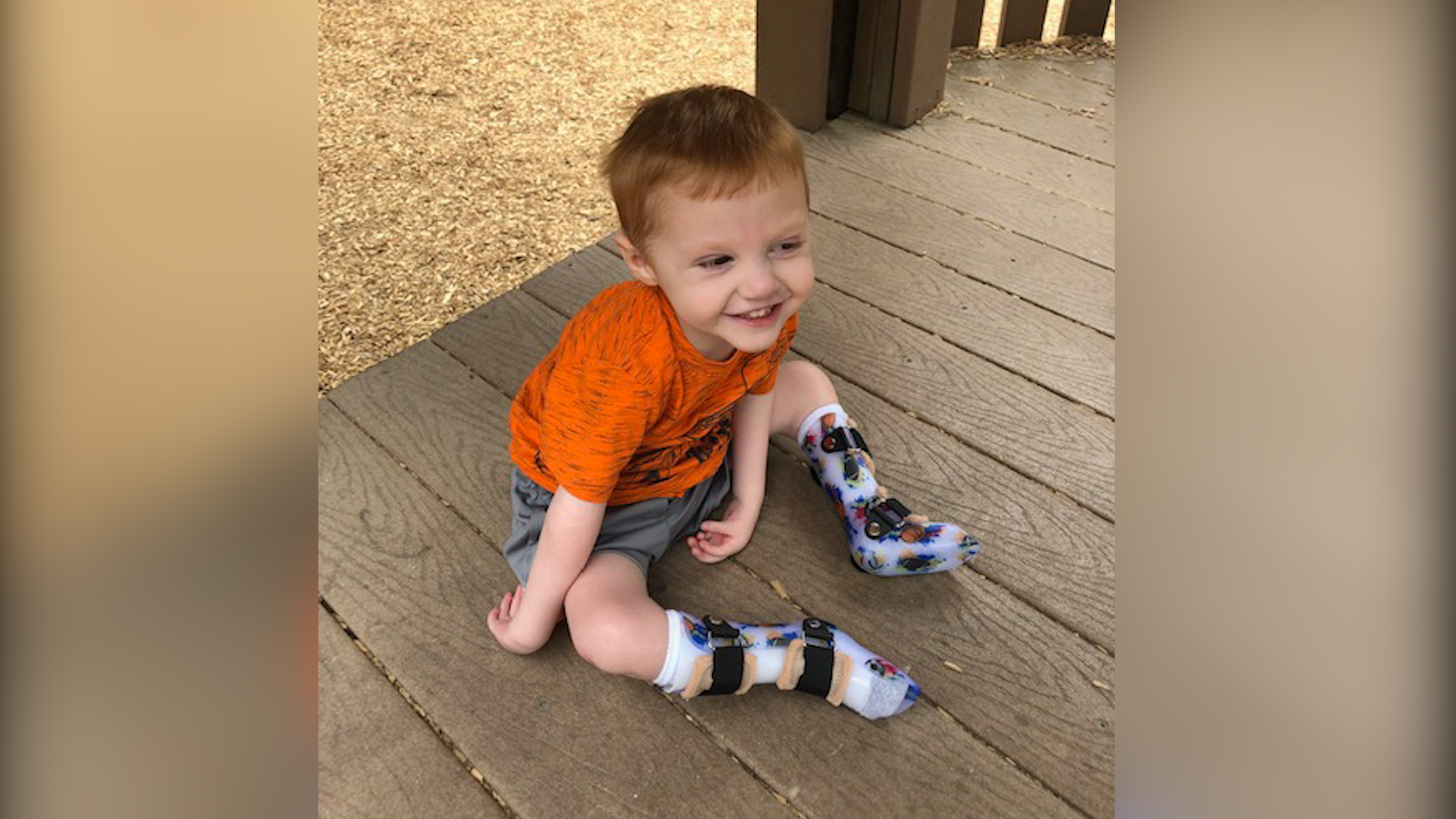 One Wichita Falls family is hoping for a blessing this new year that could help their son walk independently for the first time in his life.