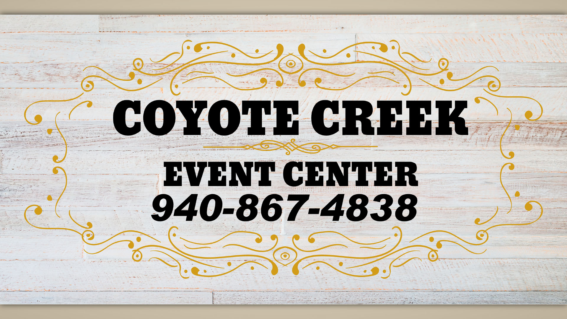 Coyote Creek Event Center