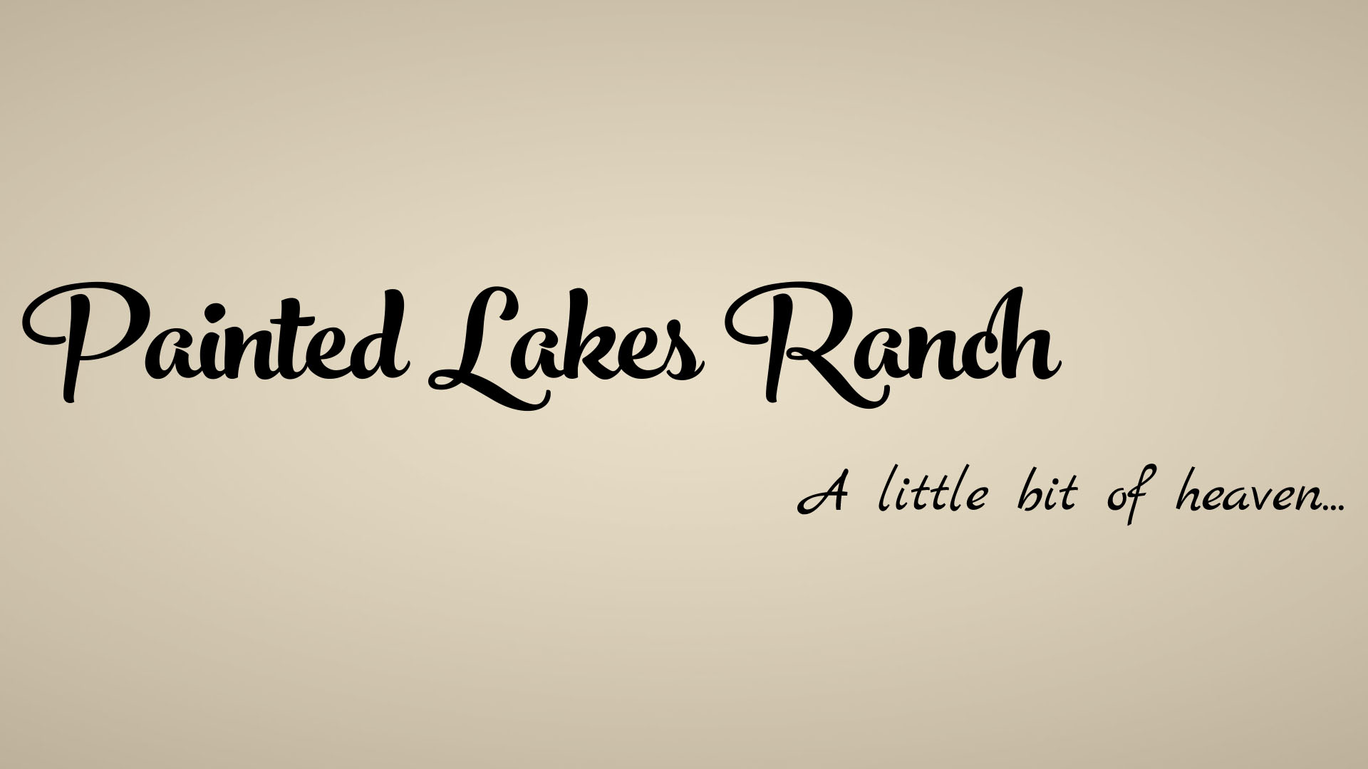 Painted Lakes Ranch