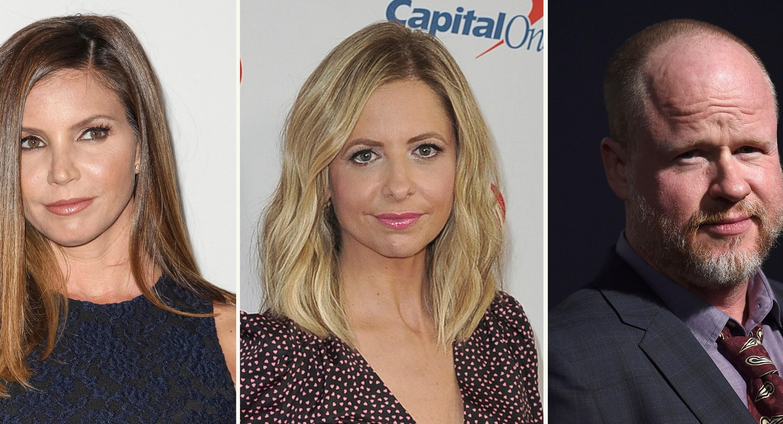 Charisma Carpenter, Sarah Michelle Gellar, Joss Whedon