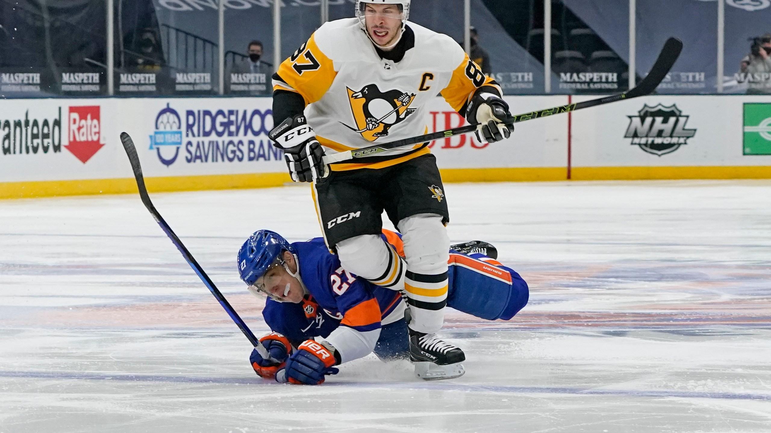 Anders Lee, Sidney Crosby