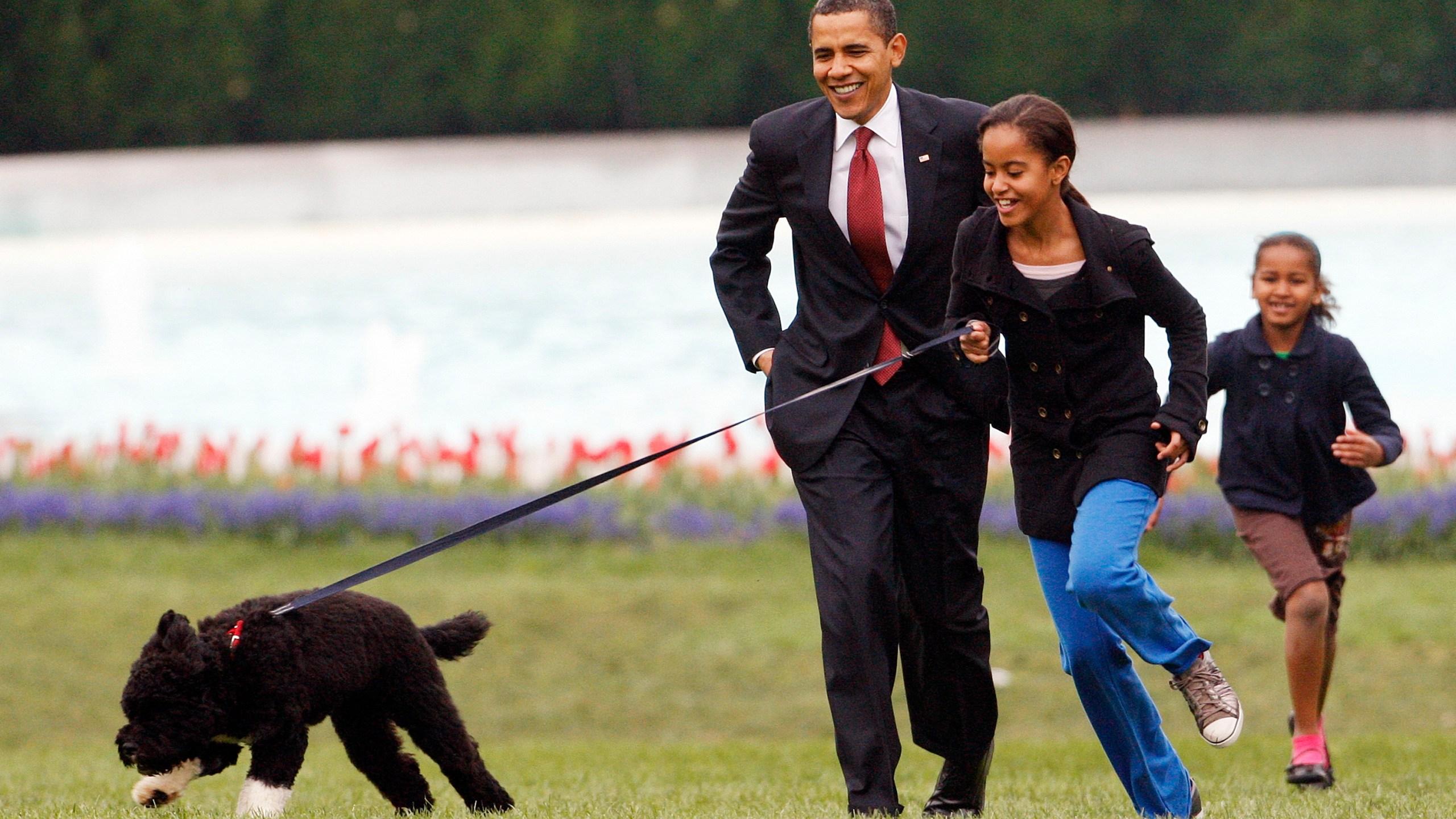 Barack Obama, Sasha Obama, Malia Obama